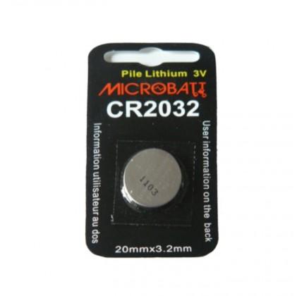lot de 6 Piles lithium CR2032