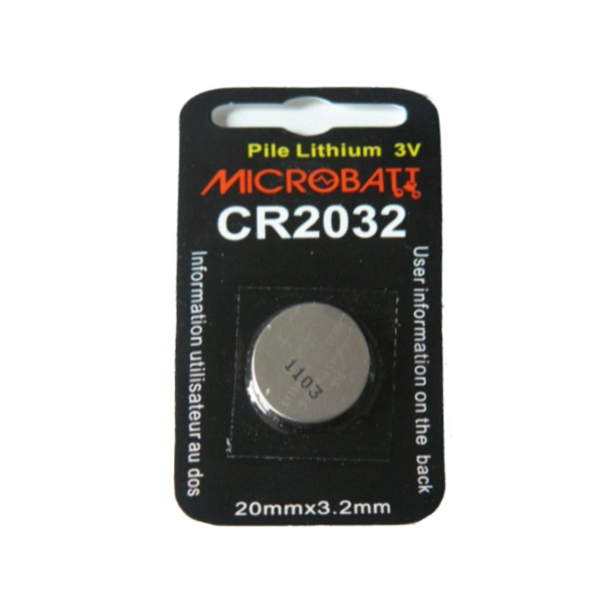 lot de 6 Piles lithium CR2032