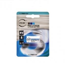 1 Pile lithium CR123A
