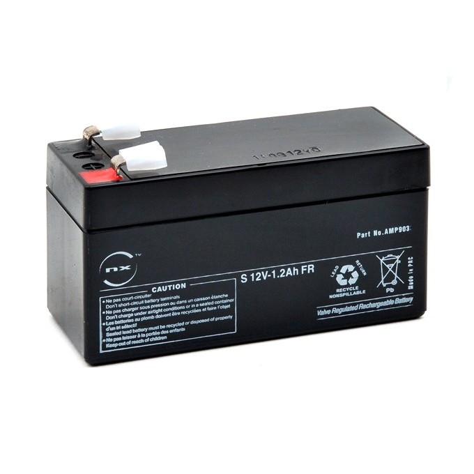 1 Batterie 12V 1,2Ah