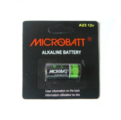 Pile alcaline 23A, A23 12V