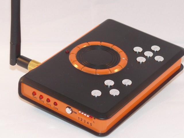 Enregistreur DVR avec camera IR CCD + carte SD 2G Offerte