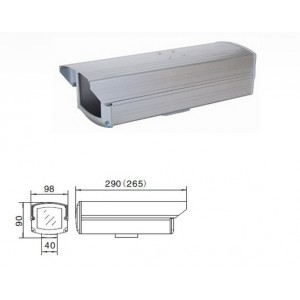 Boitier intérieur de protéction caméra de vidéo-surveillance en aluminium