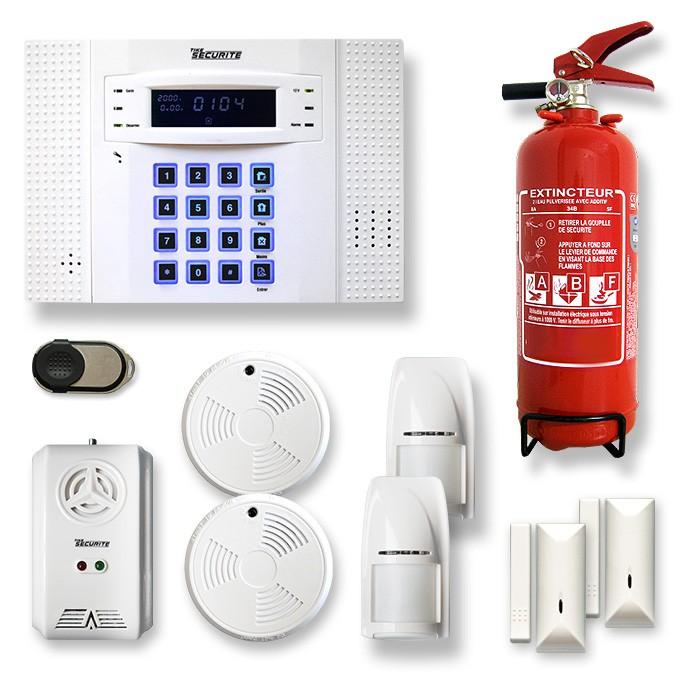 Alarme maison sans fil DNB7