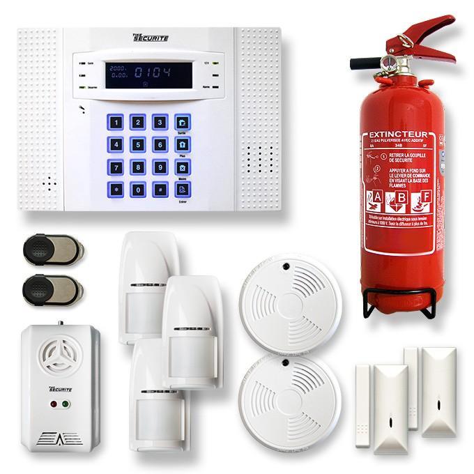 Alarme maison sans fil DNB9