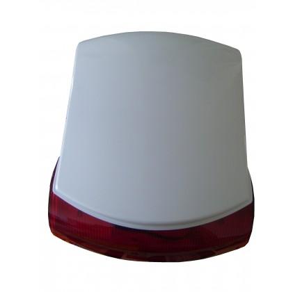 Sirène avec flash 120 dB pour alarme TP238, KS0021, SH408 et FL2000