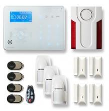 Alarme maison sans fil RTC/IP et option GSM ICE-B1