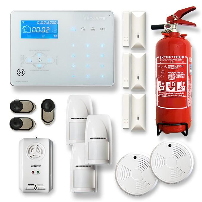 Alarme maison sans fil RTC/IP et option GSM ICE-B10