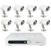 Système camera vidéo surveillance 8 caméras