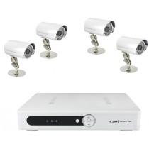 Système camera vidéosurveillance 4 caméras exterieurs