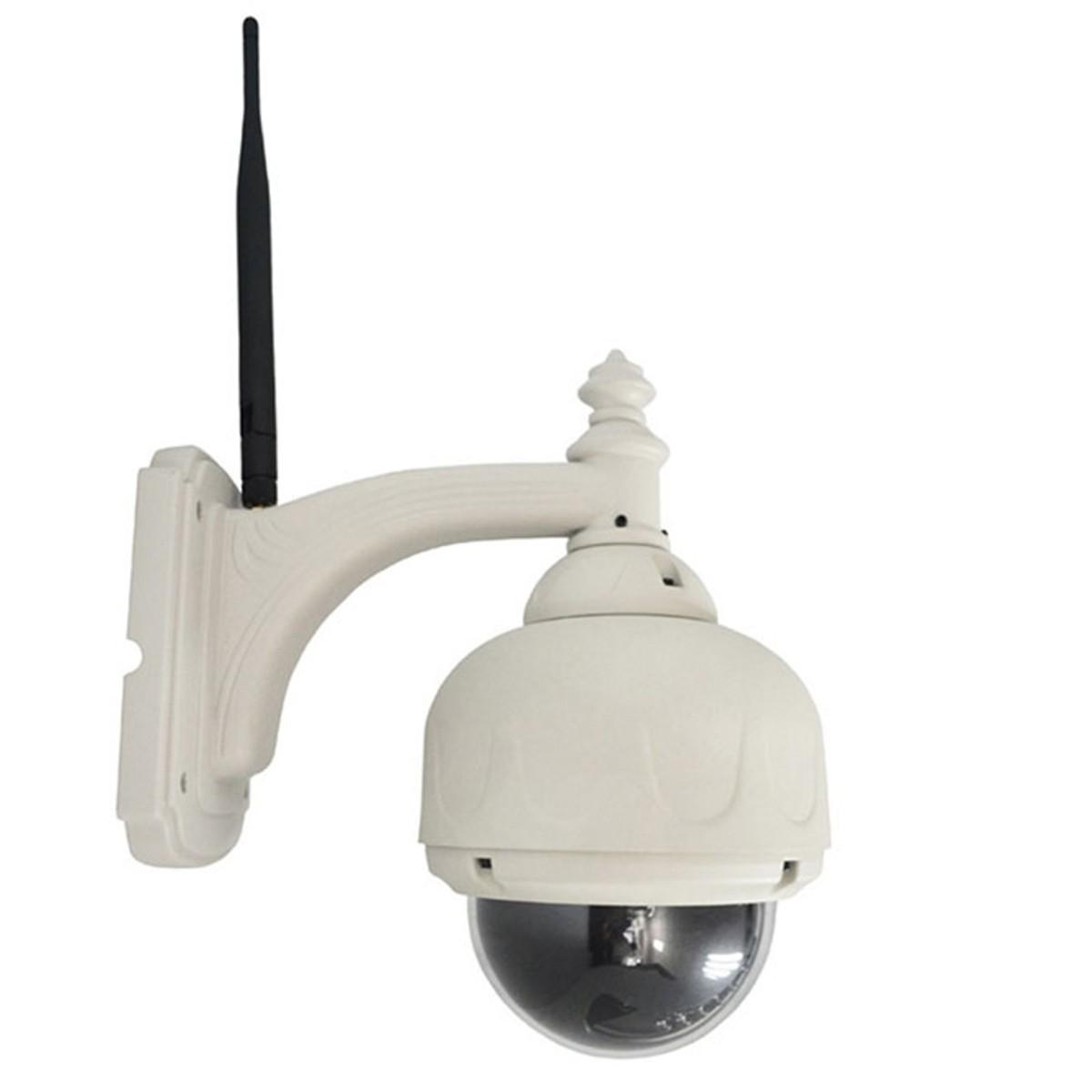 Caméra IP wifi extérieure infra-rouge motorisée Plug and play