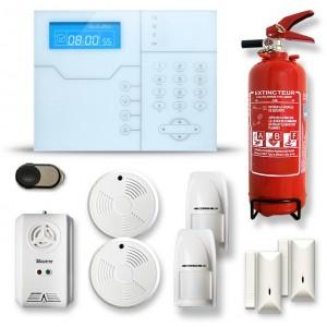 Alarme maison sans fil RTC/IP et option GSM modèle SHB7