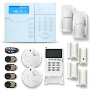 Alarme maison sans fil RTC/IP et option GSM modèle SHB4