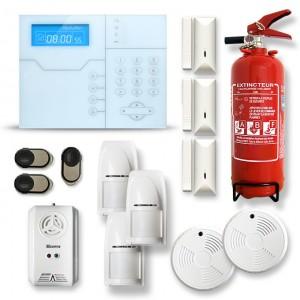 Alarme maison sans fil RTC/IP et option GSM modèle SHB10