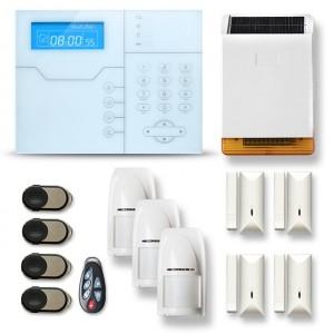 Alarme maison sans fil RTC/IP et option GSM modèle SHB6