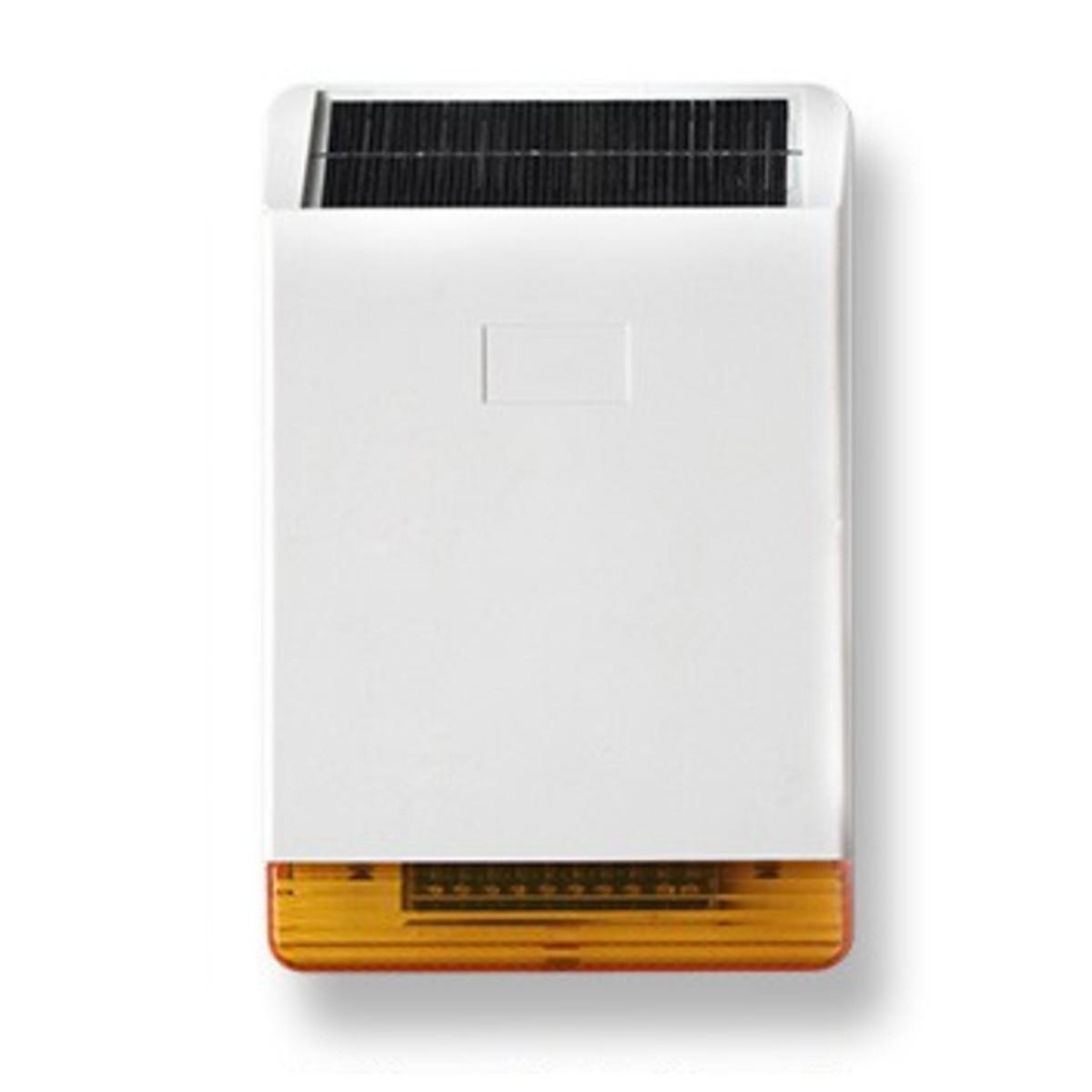Sir ne ext rieure solaire sans fil 108db avec flash pour - Sirene alarme exterieure sans fil ...