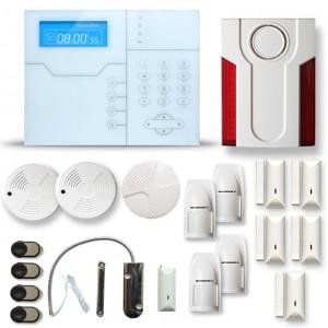 Alarme maison sans fil RTC/IP et option GSM modèle SHB12