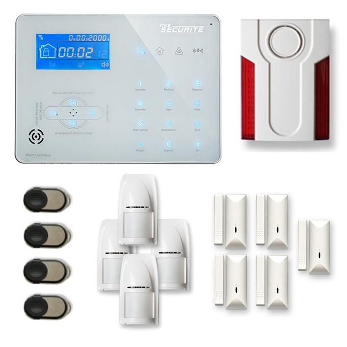 alarme maison sans fil rtc ip et option gsm ice b14 alarmes. Black Bedroom Furniture Sets. Home Design Ideas