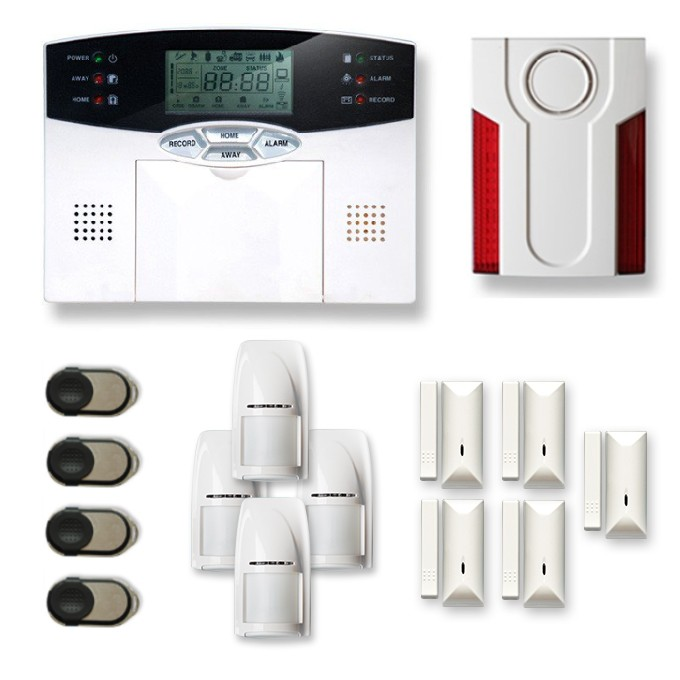 Alarme maison sans fil MN209V