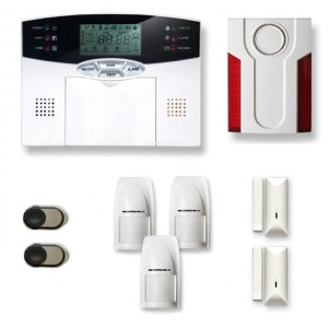 Alarme maison sans fil MN209T