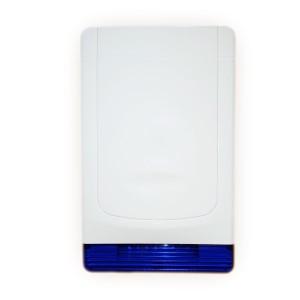 Sirène 100db sur pile avec flash sans fil pour alarme MN209/ DNB / ICE-B / SHB