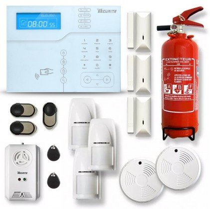 Alarme maison sans fil GSM modèle SHB10 V2