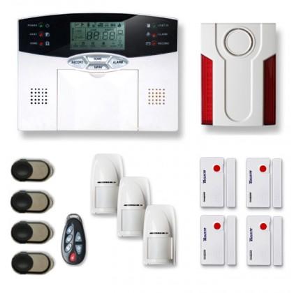 Alarme maison sans fil MN209P
