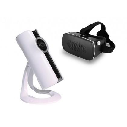 Pack caméra IP 180° + casque VR offert