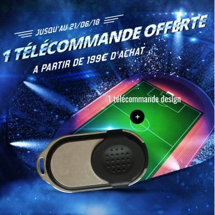 1 Télécommande pour Alarme MN209/ DNB / ICE-B/ SHB offerte