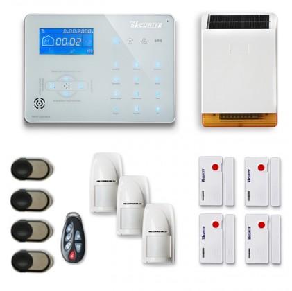Alarme maison sans fil RTC/IP et option GSM ICE-B49