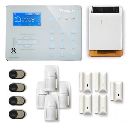 Alarme maison sans fil RTC/IP et option GSM ICE-B44
