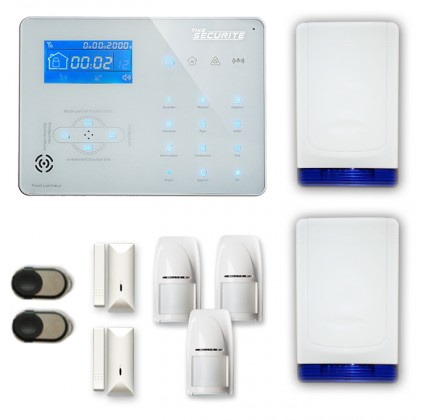 Alarme maison sans fil RTC/IP et option GSM ICE-B55