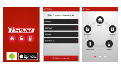 application tike sécurité