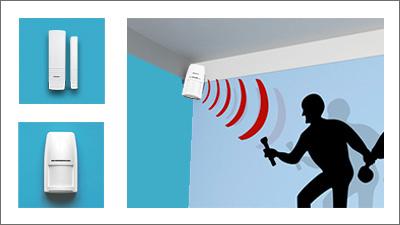 détecteurs alarme SHB