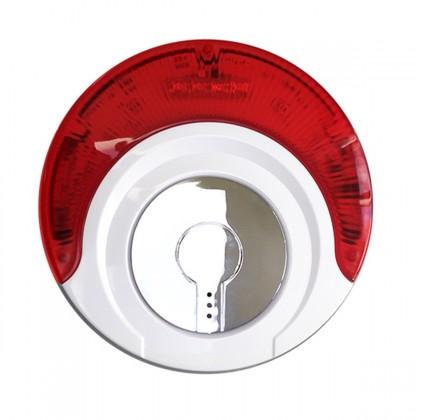Sirène 100db avec flash sans fil pour alarme MN209/ DNB / ICE-B/ SHB