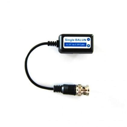 Paire de Balun BNC pour cablage caméra vidéo surveillance transmetteur vidéo