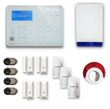Alarme maison sans fil RTC/IP et option GSM ICE-B65