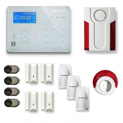 Alarme maison sans fil RTC/IP et option GSM ICE-B67