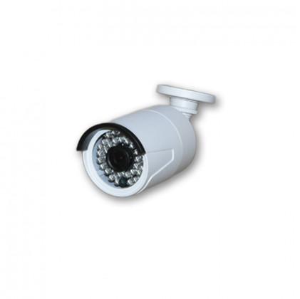 Caméra extérieure/intérieure blanche pour NVR