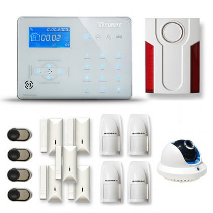 Alarme maison sans fil RTC/IP et option GSM ICE-B164