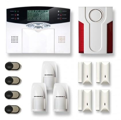 Alarme maison sans fil MN209