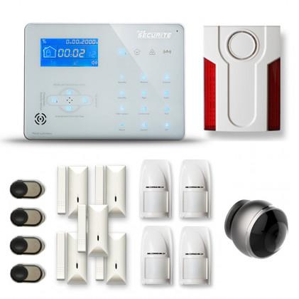 Alarme maison sans fil RTC/IP et option GSM ICE-B264