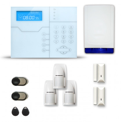 Alarme maison sans fil SHB35 GSM/IP