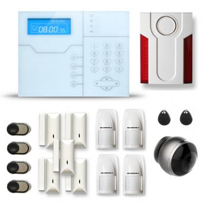 Alarme maison sans fil SHB264 GSM/IP