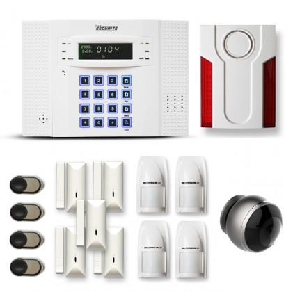 Alarme maison sans fil DNB264