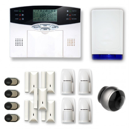 Alarme maison sans fil MN262