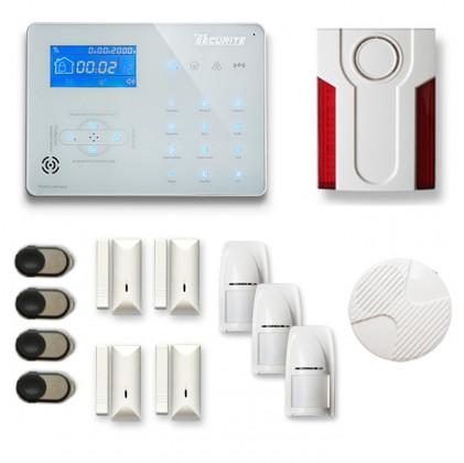 Alarme maison sans fil RTC/IP et option GSM ICE-B167