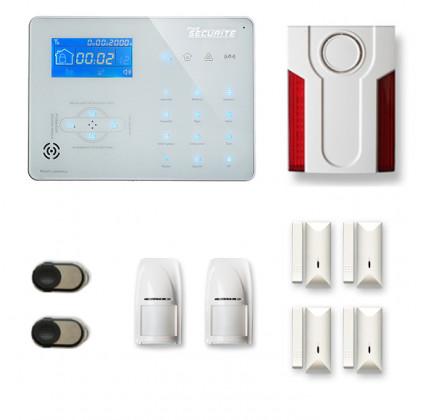 Alarme maison sans fil RTC/IP et option GSM ICE-B3
