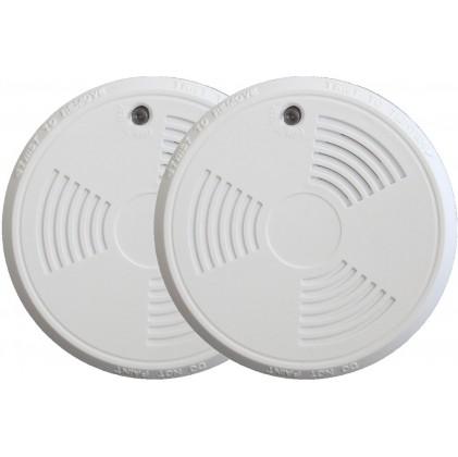 Pack de 2 détecteurs de fumée tike sans fil norme EN14604