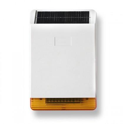 Sirène extèrieure solaire sans-fil 108dB avec flash pour alarme MN209/ DNB / ICE-B / SHB